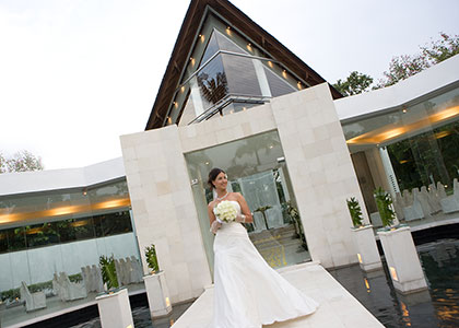 Kunja Santi Chapel Wedding